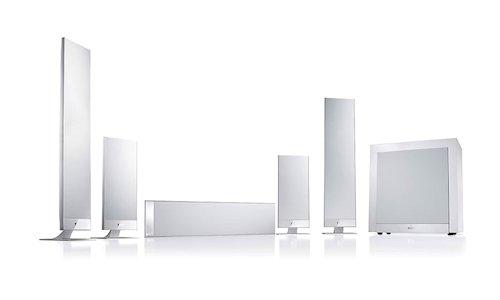 kef t301c. kef t205 ultra thin speaker system kef t301c